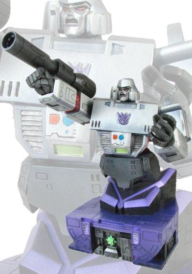 Megatron Bust Robot 3