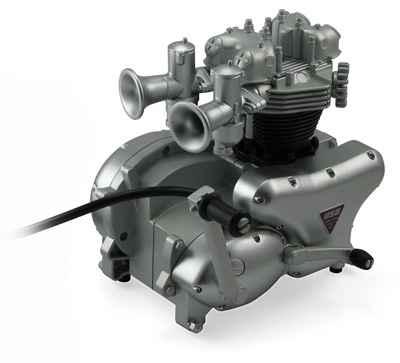 Motorcycle engine Hub 3
