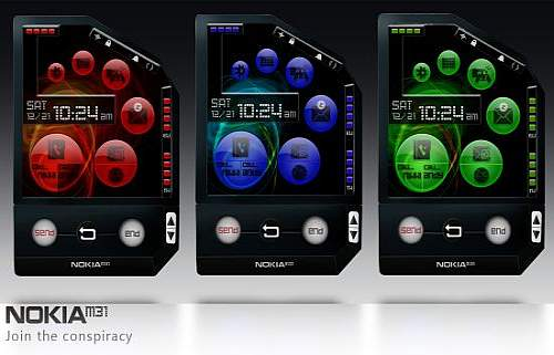 Nokia M31 Dual Touch Cellphone