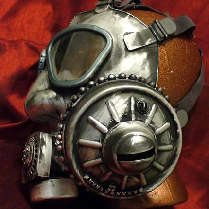 Steampunk helmet 5