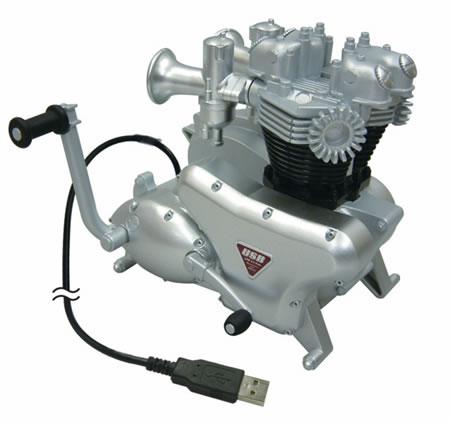 USB MOTORCYCLE ENGINE HUB 1