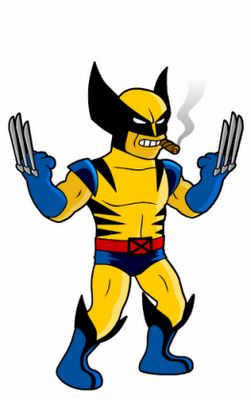 Wolverine-Cigar-X-men