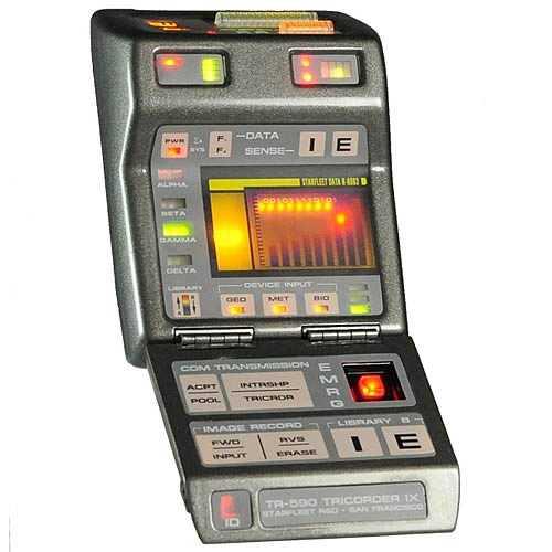 Star Trek Starfleet Mark IX Tricorder Replica