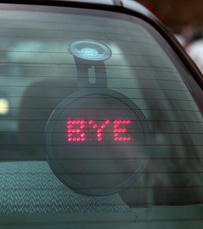 Drivemocion Led Car Sign 1