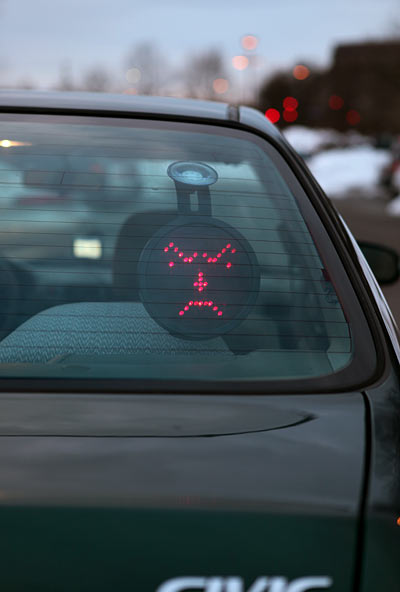 Drivemocion Led Car Sign 2