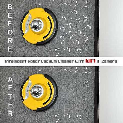 Intelligent Robot Vacuum Cleaner 6