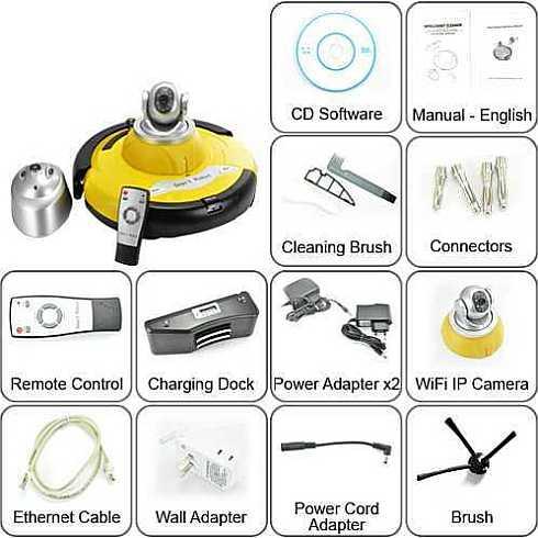 Intelligent Robot Vacuum Cleaner 8