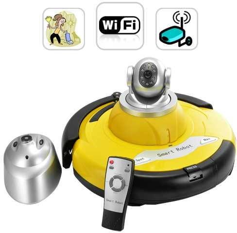 Intelligent Robot Vacuum Cleaner