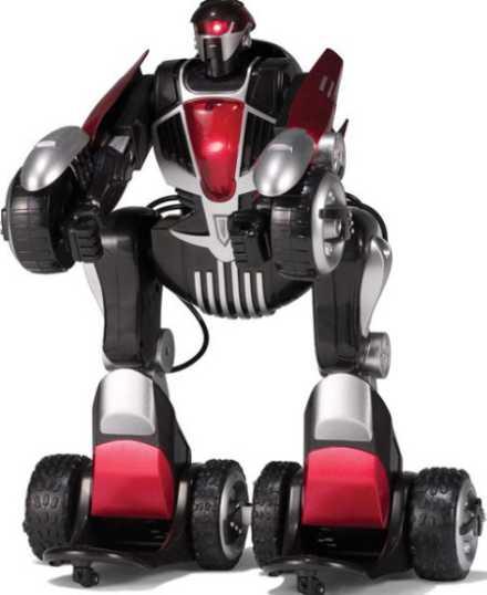 Remote control robot car transformed