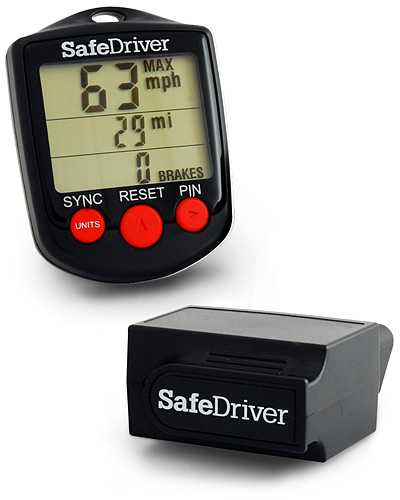 Safedriver Wireless Vehicle Monitor