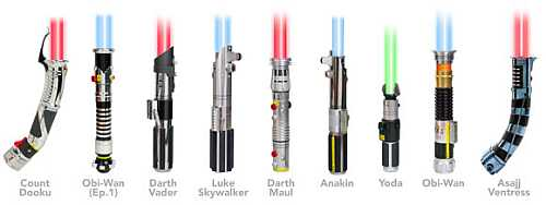 Star Wars Lightsaber 5