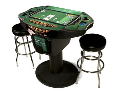 Texas Hold Em Video Tournament Table 1