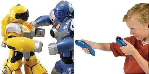 The Robotic Pugilists