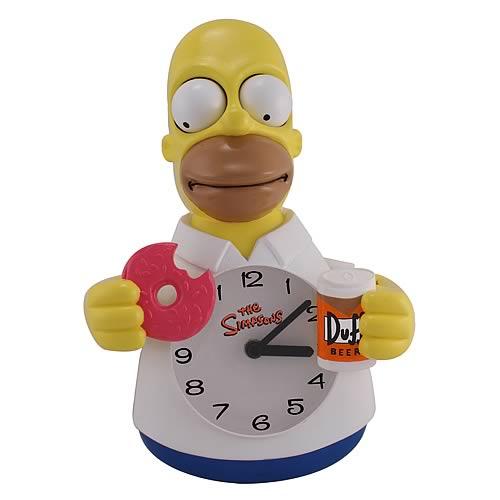 Simpsons Clock