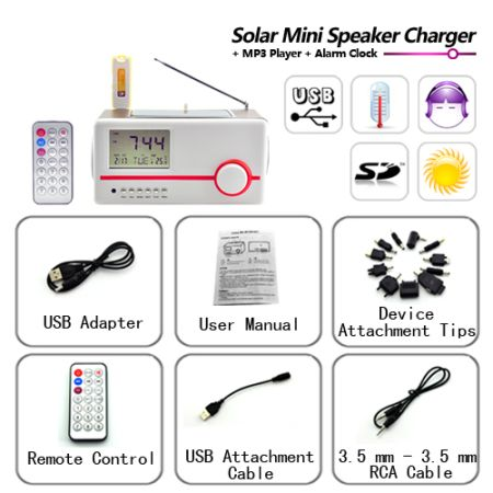 Solar Mini Charger 6