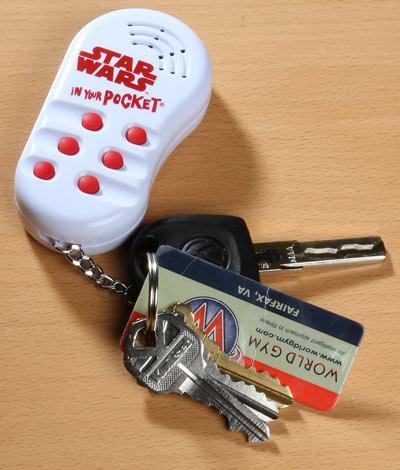 star wars keychain sounds gadget