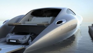 Luxury Yacht and Supercar1