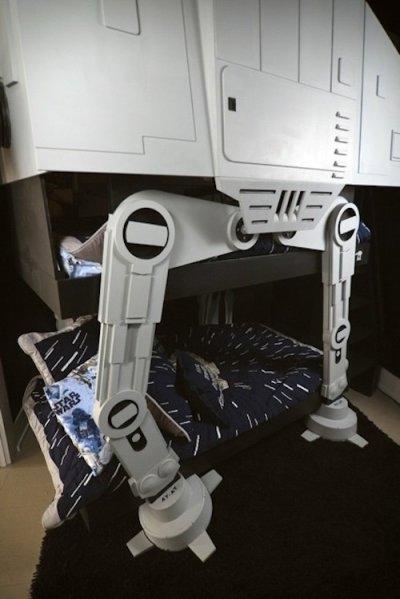 imperial walker bunk bed design for geeks