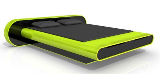 karim rashid adjustable bed design for geeks 2