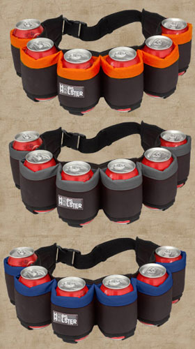 Hop Holster, A Fun Concept For A Can Holder-1