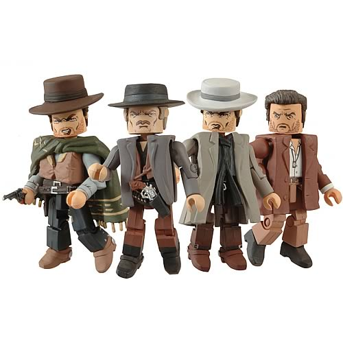 The Good, The Bad And The Ugly Minimates Box Set For Fans