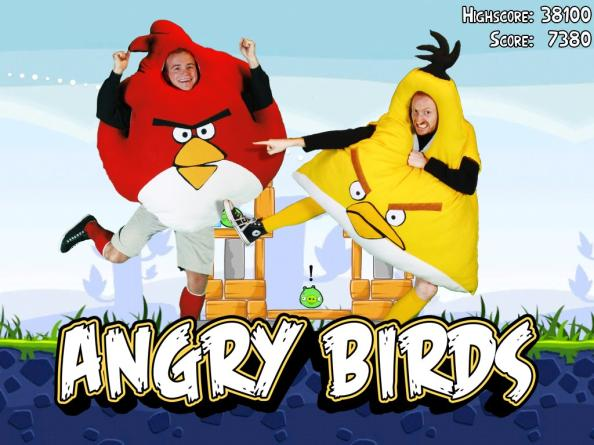 angry birds costumes 1