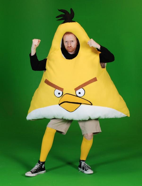 angry birds costumes design