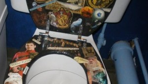 harry potter toilet