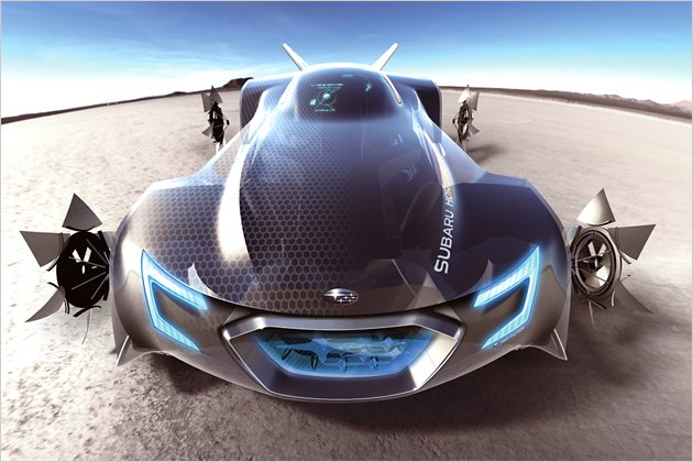 Futuristic Car Designs