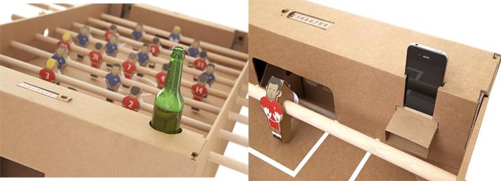 Cardboard Foosball Table 3