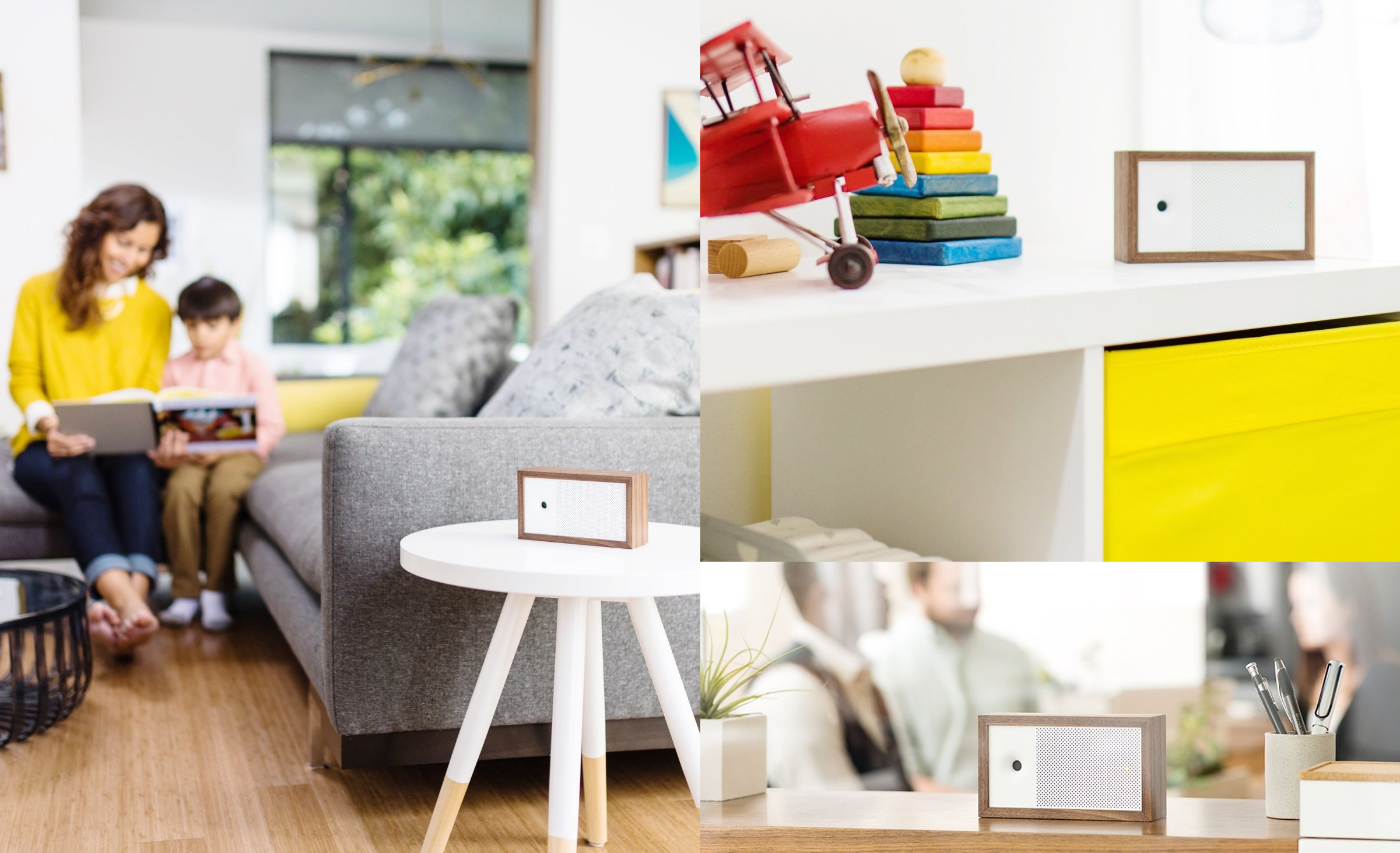 Awair- Smart Air Quality Monitor with LED display