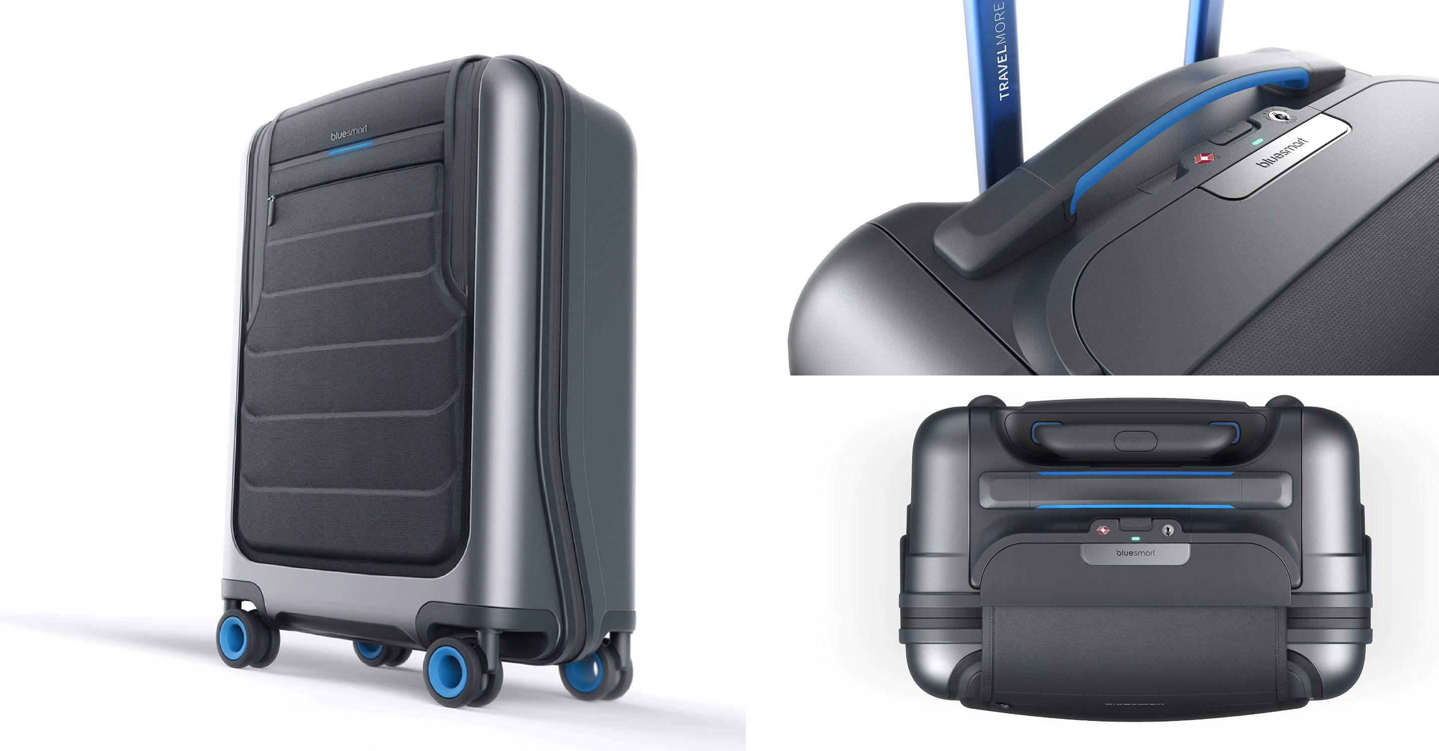 Bluesmart Smart Carry-On Luggage  3