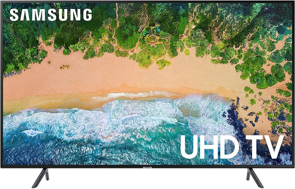 "Samsung 58NU7100 Flat 58"" 4K UHD 7 Series Smart TV"