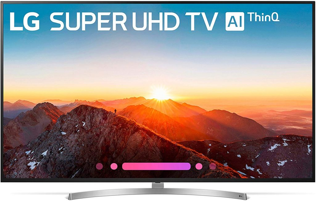 LG Electronics 75SK8070PUA 75-Inch 4K Ultra HD Smart LED TV