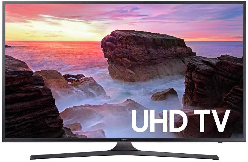 Samsung Electronics UN50MU6300 50-Inch 4K Ultra HD Smart LED TV